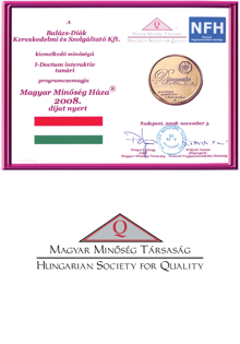 Hungarian House of Quality Award