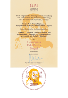 Comenius Edumedia Award