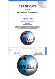 Worlddidac Award