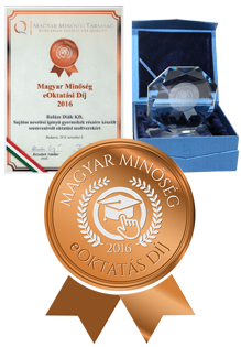 Hungarian Quality - eLearning prize